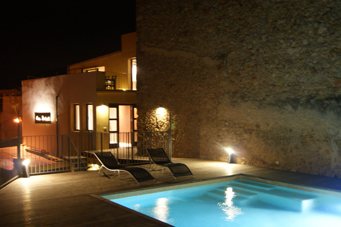 Casa rural amb piscina Can Pericot 1721